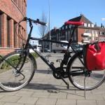 Das Fahrrad ist fertig