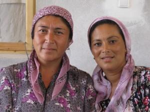 Zwei Frauen vom Bazar in Yallma - Usbekistan