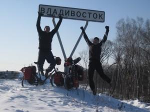 Ziel erreicht - Wladiwostok!